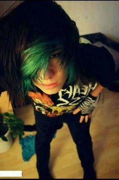 My Mertin! He was my twin when I had my teal/green bangs
