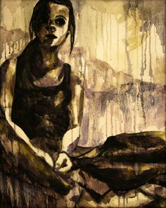 oil painting by Brooke Walton