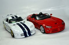 Dodge Viper GT 2 x Dodge Viper