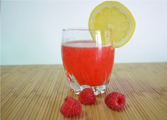 Raspberry Lemonade made the way it was supposed to be: with real fruit!