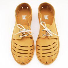 yellow shoes | korshun footwear
