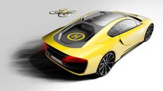 Drone Rides Shotgun on This Self-Driving Sports Car http://whtc.co/7cbr