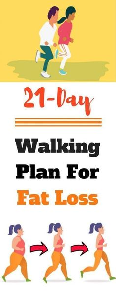 21-Day Walking Plan For Fat Loss
