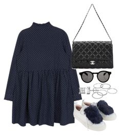 """""""Untitled #4069"""" by theeuropeancloset ❤ liked on Polyvore featuring Josefinas, Apt. 9, Chanel and Illesteva"""
