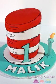 1st birthday cake  www.cakeitycakes.ca