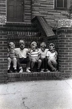 monster fan club, 1961 by diane arbus