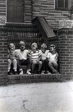 monster fan club, 1961 by diane arbus