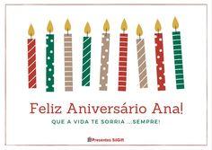 Feliz Aniversário Ana