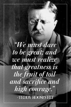 Theodore Roosevelt was a frequent guest on the Waggoner Ranch. #quotes #westernwisdom