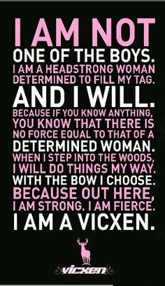 Not a bow kinda girl. But this is still true. I rather have my shot gun