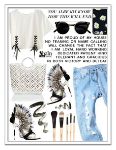 """""""SheIn Contest ♥"""" by av-anul ❤ liked on Polyvore featuring Nancy Gonzalez, Diego Dolcini, Kate Spade, Gorgeous Cosmetics, shein and avanul"""