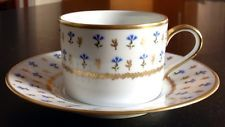 RAYNAUD Limoges porcelain cup & saucer set VIEUX NYON pattern - Great Find!!