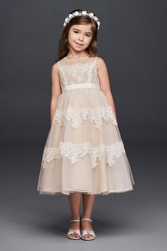 Clothing, Shoes & Accessories Candid Sweet Kids Girls Dress Floral Party Wedding Dress Sleeveless Princess Sundress*