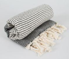 100% Cotton Hamam Towel Beach Towel Hammam Peshtemal Turkish Towel Sarong Spa Sauna Beach Fouta Towel BLACK by STORYOFCOTTON on Etsy https://www.etsy.com/listing/97753042/100-cotton-hamam-towel-beach-towel