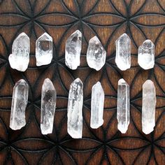 /○//☾○Keep clear quartz in your garden to restore energy to your plants ○☽○