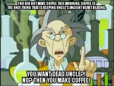Uncle from Jackie Chan adventures will always be my favorite!