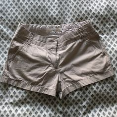 "J. Crew khaki chino shorts No damage - good condition. 3"" inseam. Light khaki color. J. Crew Shorts"
