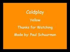 Coldplay - Yellow - Lyrics