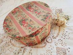 ハットボックス - イギリスとフランスのアンティーク   薔薇と天使のアンティーク   Eglantyne(エグランティーヌ)