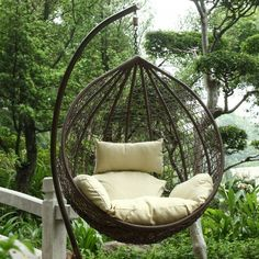 Harrier Hanging Egg Swing Chairs [2 Sizes] | Net World Sports Pvc Chair, Egg Swing Chair, Hanging Egg Chair, Swing Chairs, Hammock Chair, Swinging Chair, Garden Chairs, Outdoor Table Tennis Table, Outdoor Tables