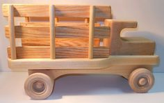 Wooden Stake Truck Farm Truck Flatbed Truck by ClassicDesigns365
