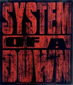 System Down Red Logo