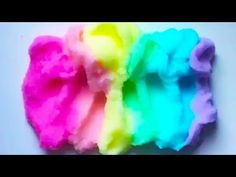 Cloud Slime ! Slime With Fake Snow ! Satisfying Slime ASMR Video ! #8 - YouTube
