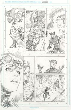 Hi-Res Pencils for inkers Injustice 17 page 7 by davidyardin.deviantart.com on @DeviantArt