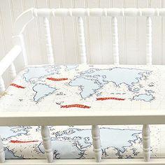 Around The World Baby Bedding In Blue