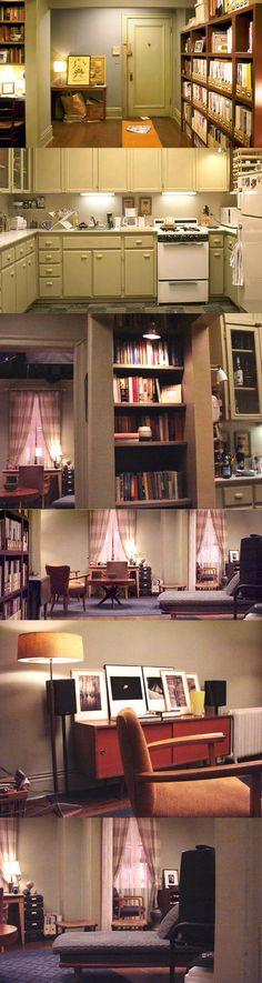 O #indahouse de hoje pede licença e entra no apartamento de Carrie Bradshaw pra ver em detalhes como vivia a diva da televisão. Quer ver?! Vem comigo!