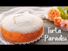 La torta paradiso è un dolce tradizionale semplicissimo e delicato. Da accompagnare al tè, al latte e al caffè, è... Sweet Recipes, Cake Recipes, Torte Cake, Cheesecake Cake, Chiffon Cake, Pound Cake, Cake Cookies, No Bake Cake, Biscotti
