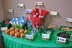 Mincraft Party Candy bar