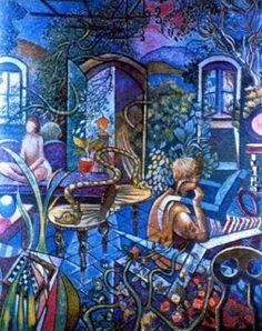 ΤΕΧΝΗ ΚΑΙ ΖΩΗ: ΝΙΚΟΛΑΟΣ ΧΑΤΖΗΚΥΡΙΑΚΟΣ ΓΚΙΚΑΣ Greece, Painting, Greek, Kunst, Greece Country, Painting Art, Paintings, Painted Canvas, Drawings