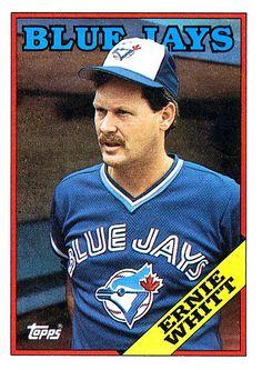 Catcher: Ernie Whitt Sports Baseball, Baseball Players, Baseball Cards, Toronto Blue Jays, Goalie Mask, Mlb Teams, Best Player, Blue Bird, Sports Logos