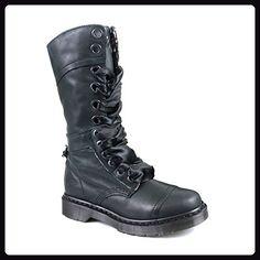 Dr Martens 1914 Triumph Stiefel (schwarz), Schwarz - Schwarz - schwarz - Größe: 42 - Stiefel für frauen (*Partner-Link)