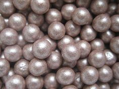 Edible fondant pearls 500 5mm Taupe by Cakesupplies on Etsy, $19.99