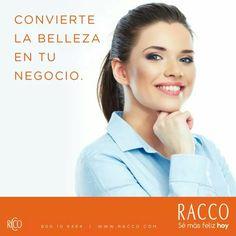 ¡CONVIERTE LA BELLEZA EN TU NEGOCIO! Divertido, simple, rentable y con beneficios únicos. #SéConsultoraRacco  ¿Aún no eres parte de #RACCO? Completa el formulario on-line. Haz clic aquí: http://bit.ly/QQidjG o llama al 800-10-6464.