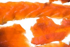 Salmon Jerky  Remove fish from the refrigerator, place in a colander to drain off any excess moisture, and let come to room temperature, about 30 minutes....