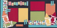 Preschool Scrapbook Page Kit