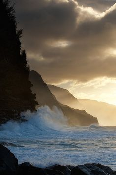 Na Pali by Chuck Babbitt (cbabbitt on flickr.com) Na Pali Coast island.kuaii