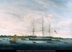 The Honourable East India Company's 'The Earl of Balcarras' at Canton, 1816, anonymous