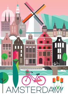 AMSTERDAM POSTER – Max and Oscar