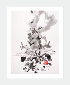 Gorgeous Behind by MaiArt's artist Chan Shun Hong  Available: http://www.maiart.hk/shun-hong-chan/gorgeous-behind-art-print--310gsm-hahnemhle-fine-art-paper