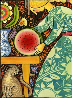 Julie Paschkis illustration