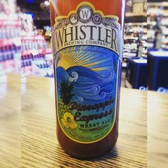 Pineapple Express Wheat Ale brewed by Whistler Brewing Company 5.00% ABV #wheat #ale #beer #beerme #labels #whistlerbrewing #pineappleexpress #wheatbeer