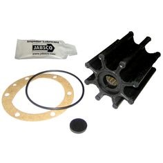 """Jabsco Impeller Kit - 8 Blade - Neoprene - 2-9/16"""" Diameter x 3"""" W, 5/8"""" Shaft Diameter - https://www.boatpartsforless.com/shop/jabsco-impeller-kit-8-blade-neoprene-2-916-diameter-x-3-w-58-shaft-diameter/"""
