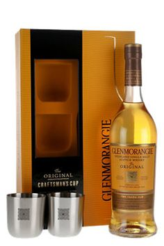 Glenmorangie 10 Year Old / Craftsman Cup Gift Set Highland Whisky Highland Whisky, Wine And Beer, Scotch Whisky, Online Gifts, Whiskey Bottle, Craftsman, The Originals, Tumblers, Packaging