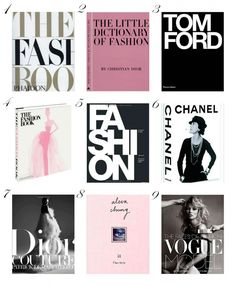 Coffee table books <3 Find links on the blog: http://malenemandrup.dk/ #interior #coffeetablebooks #fashionbooks #decorating #fashion #inspiration #vogue #tomford #dior #alexachung