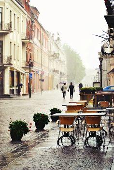 Regen kann schön sein