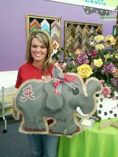 Now that ELEPHANT is So cute!!!    Big Allie. $40.00, via Etsy.